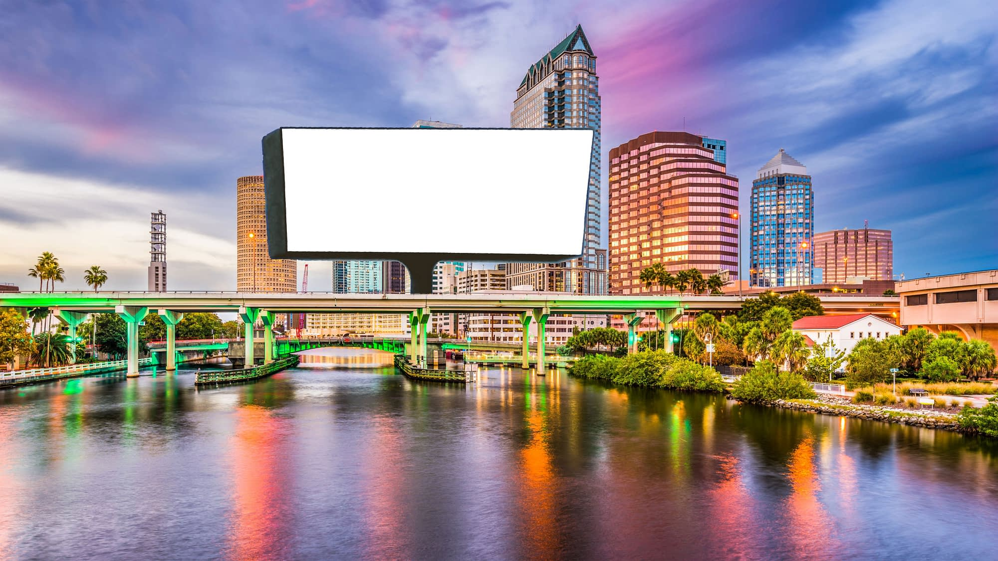 Tampa City Skyline Background scaled 1